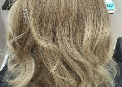 Balayage – ash blonde