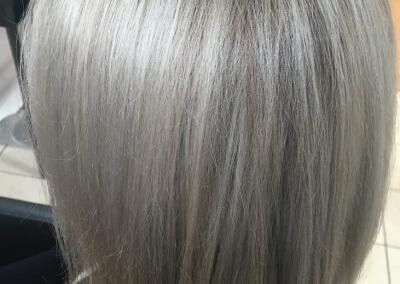 Balayage - silver