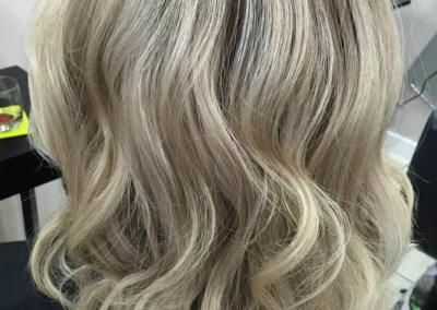Ombre – ash blonde