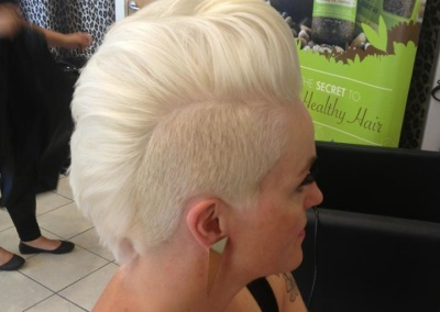 Ladies short style cut