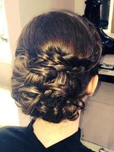 Curl Plat Hair Up