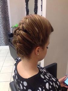 Emily Hair Up