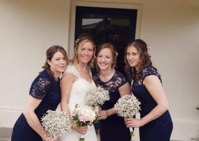 Fab Bride & Bridesmaids' Hair