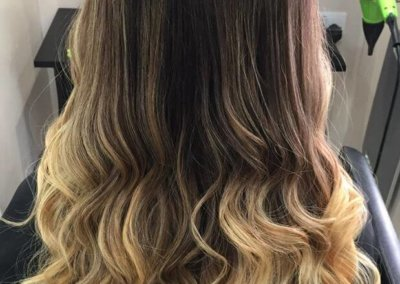 Ombre – natural brown to blonde