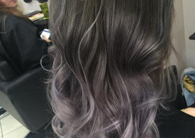 Ombré Grey Lilac
