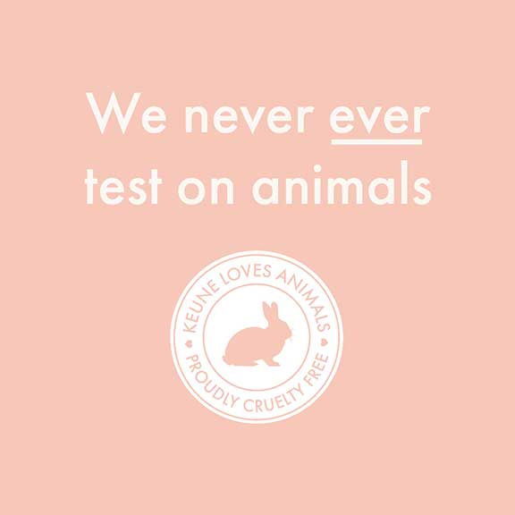 We never test on animals logo