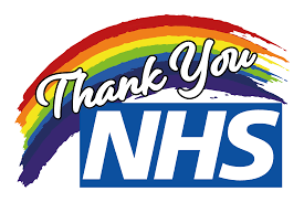 NHS Thank you rainbow